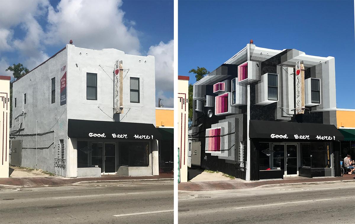 Murais tridimensionais: descubra como eles transformam as fachadas dos prédios