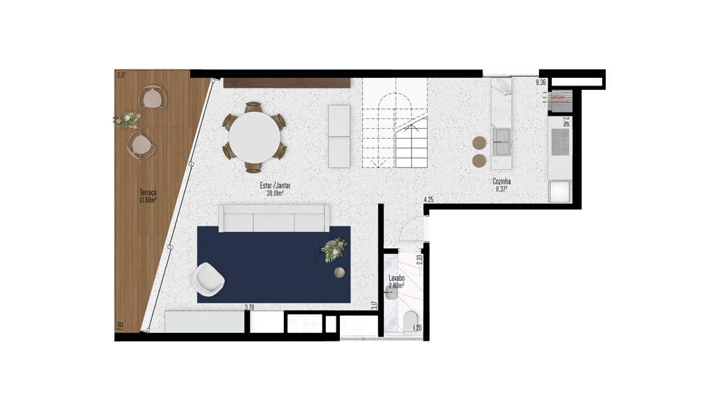 Apartamento Duplex 1001 e 1003