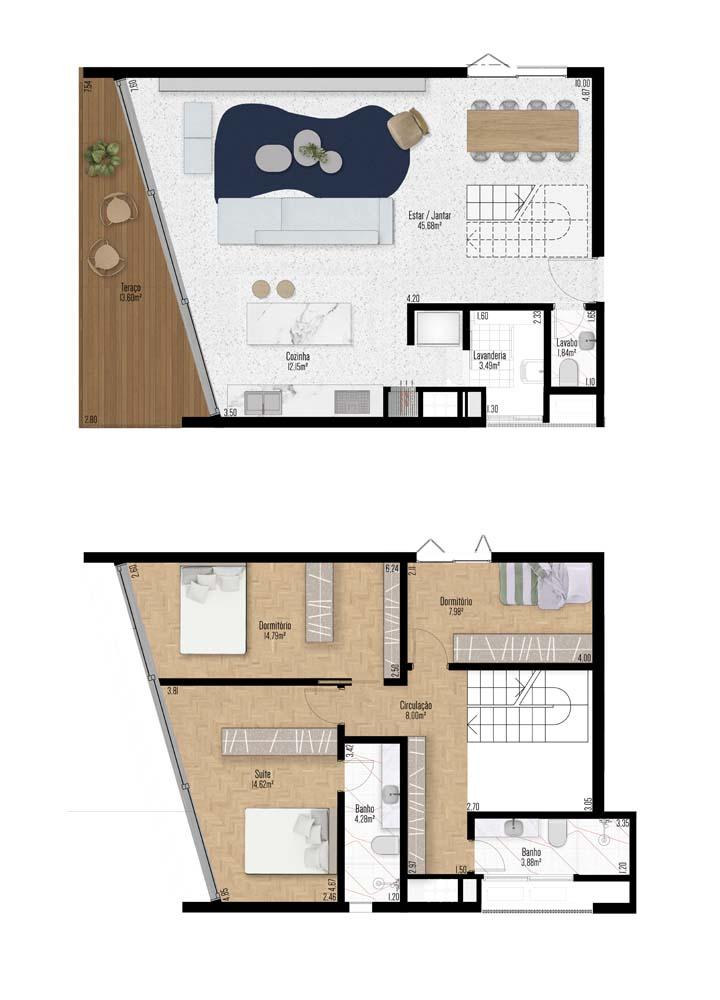 Apartamento Duplex 701 e 703